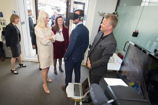 Royal Visit to Innovation House